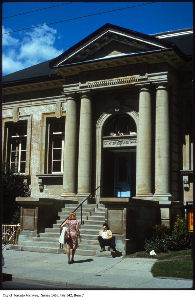 Yorkville/University. - 1987-1987
