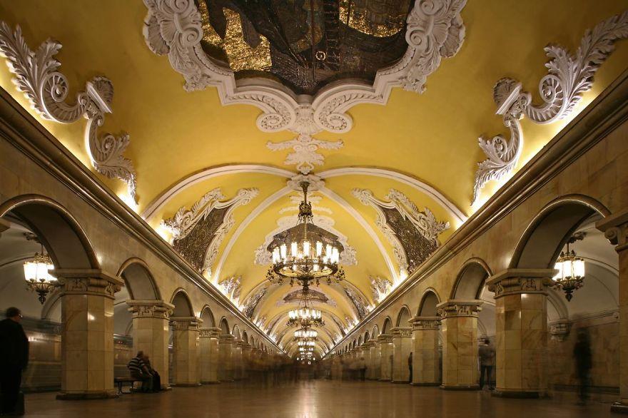 4 Avtovo Metro Station St. Petersburg Russia